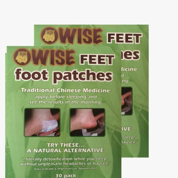 WiseFeet foot patches