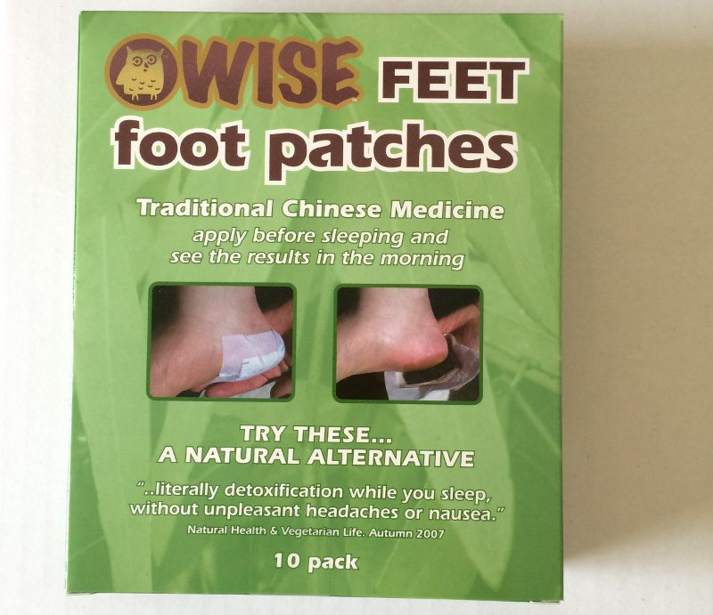 Wise Feet foot patches - box of 10