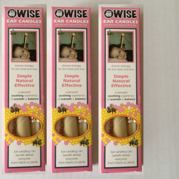 WISE ear candles triple pack
