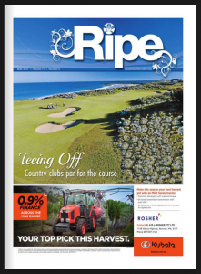 Farm Weekly magazine - Ripe